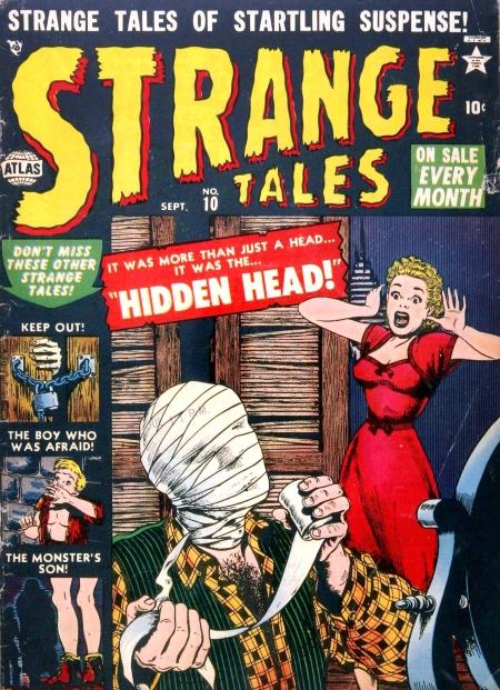 Strange Tales 10 Cover Image