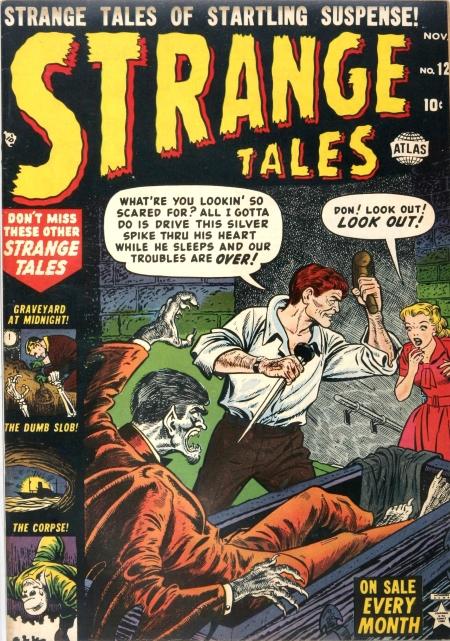 Strange Tales 12 Cover Image