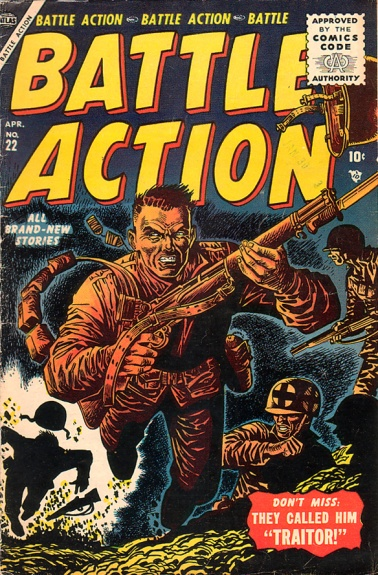 Battle Action 22 Cover Image