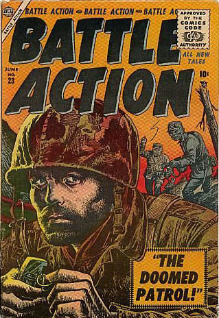 Battle Action 23 Cover Image