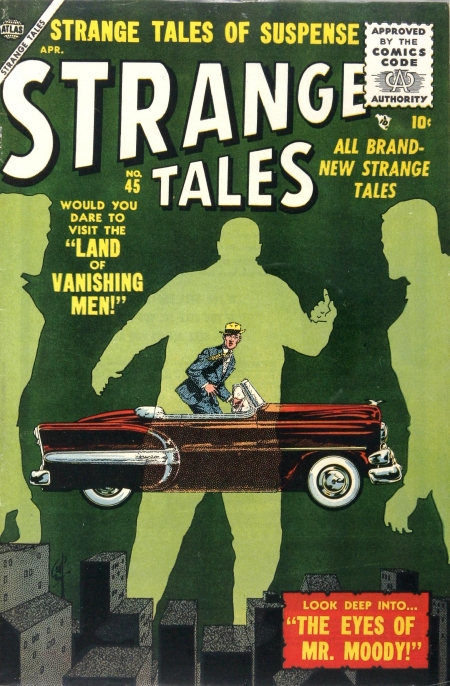 Strange Tales 45 Cover Image