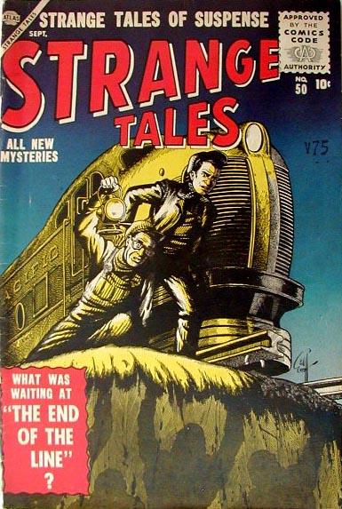 Strange Tales 50 Cover Image