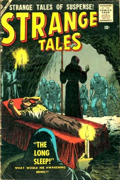 Strange Tales 54 Cover Image