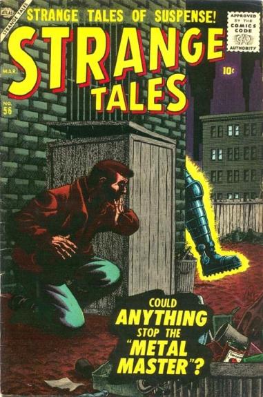 Strange Tales 56 Cover Image