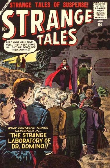 Strange Tales 64 Cover Image