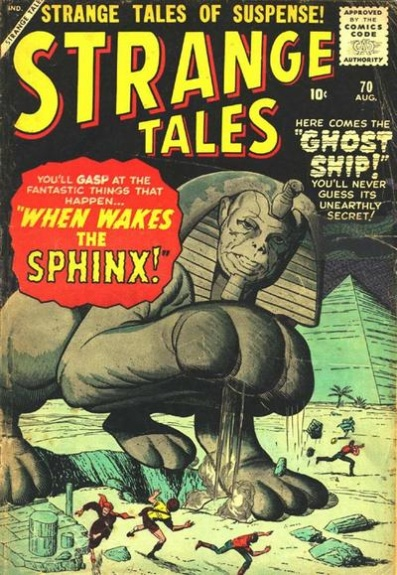 Strange Tales 70 Cover Image