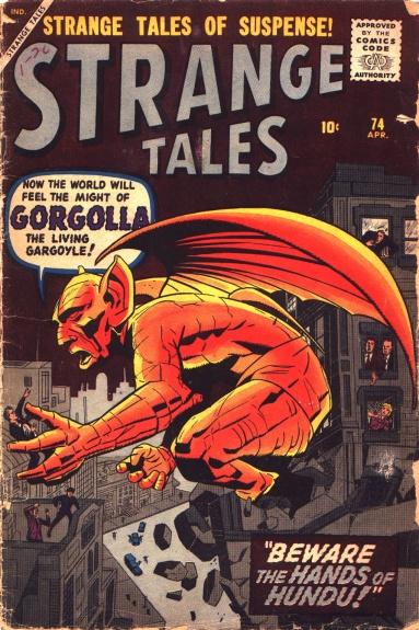 Strange Tales 74 Cover Image