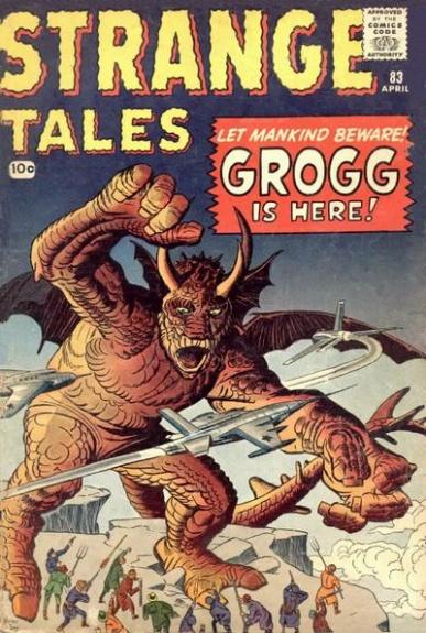 Strange Tales 83 Cover Image