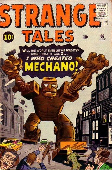 Strange Tales 86 Cover Image