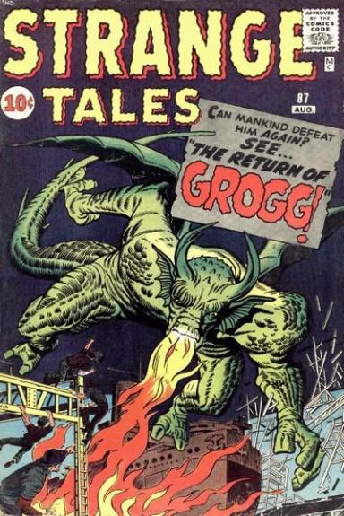 Strange Tales 87 Cover Image
