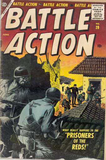 Battle Action 29 Cover Image