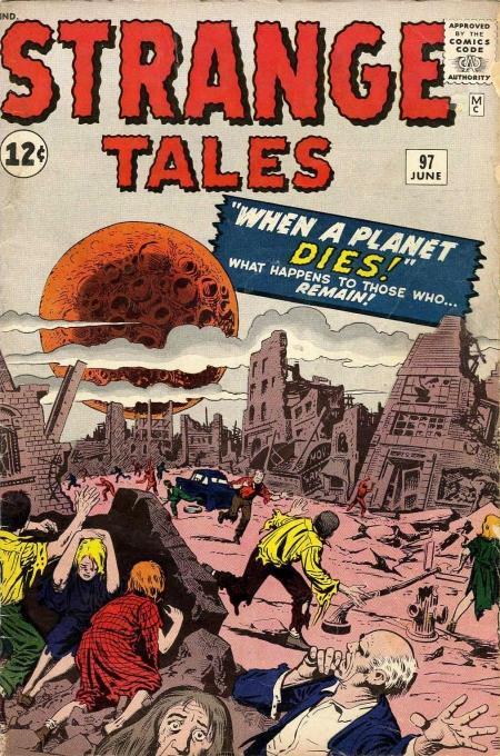 Strange Tales 97 Cover Image