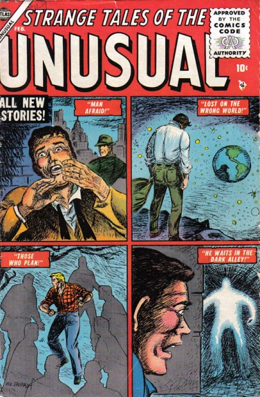 Strange Tales of the Unusual 2 Cover Image