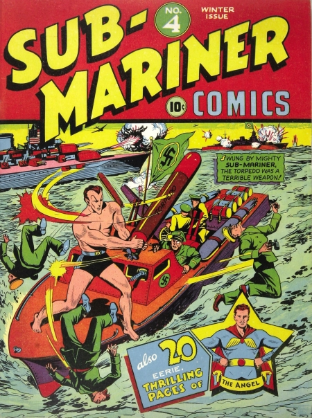 Sub-Mariner Comics 4 Cover Image