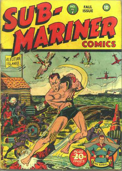 Sub-Mariner Comics 7 Cover Image
