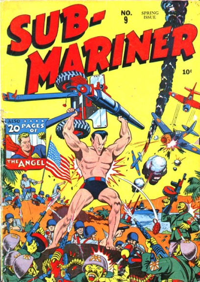 Sub-Mariner Comics 9 Cover Image