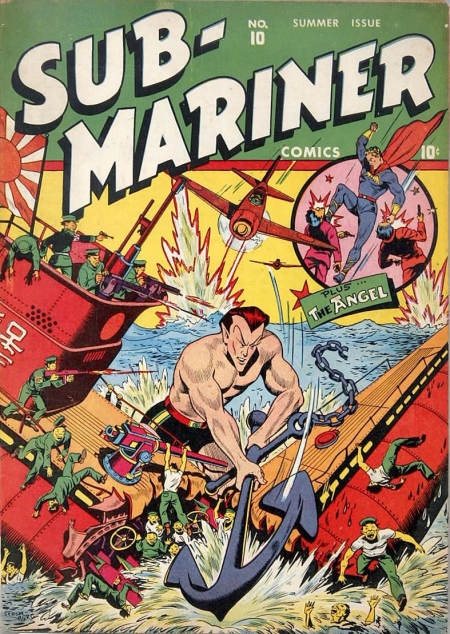 Sub-Mariner Comics 10 Cover Image