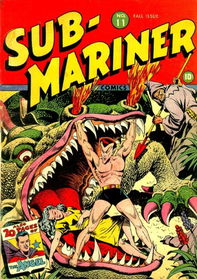 Sub-Mariner Comics 11 Cover Image