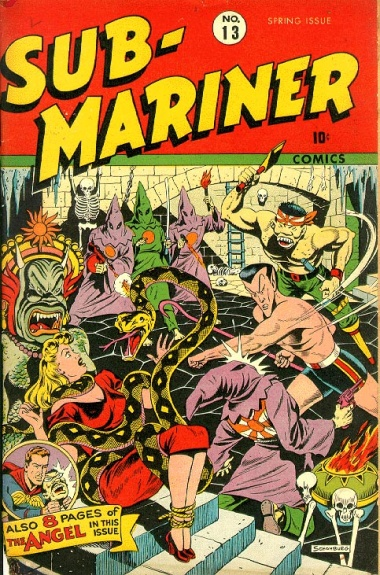 Sub-Mariner Comics 13 Cover Image