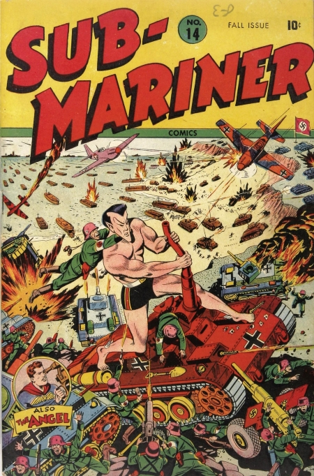 Sub-Mariner Comics 14 Cover Image