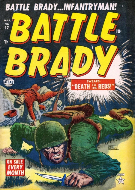 Battle Brady 12 Cover Image