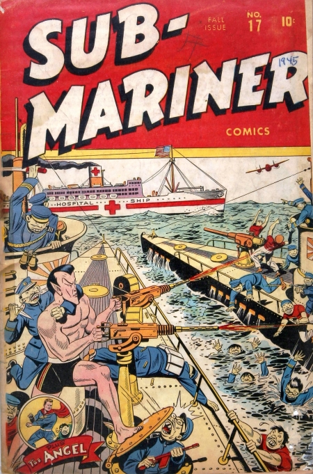 Sub-Mariner Comics 17 Cover Image