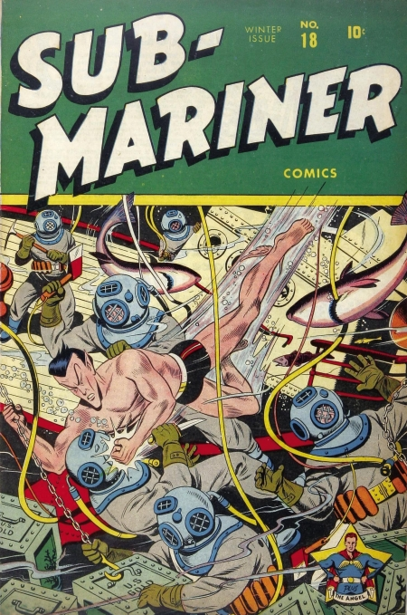 Sub-Mariner Comics 18 Cover Image