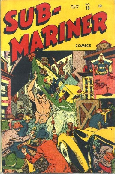 Sub-Mariner Comics 19 Cover Image