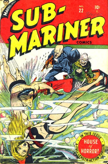 Sub-Mariner Comics 22 Cover Image