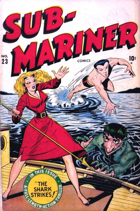 Sub-Mariner Comics 23 Cover Image