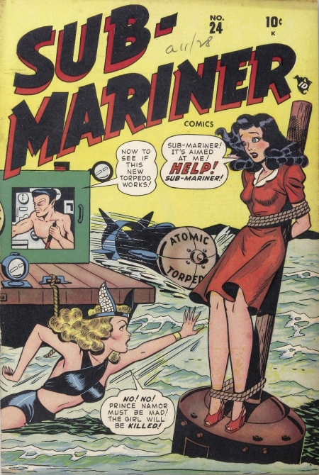 Sub-Mariner Comics 24 Cover Image