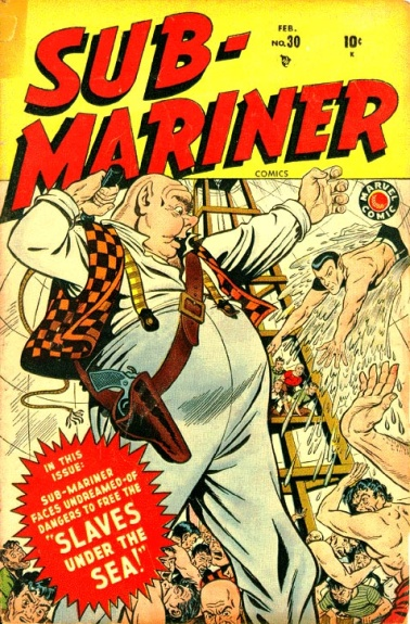 Sub-Mariner Comics 30 Cover Image
