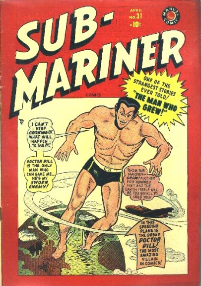 Sub-Mariner Comics 31 Cover Image