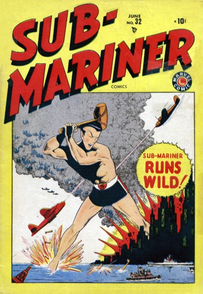 Sub-Mariner Comics 32 Cover Image