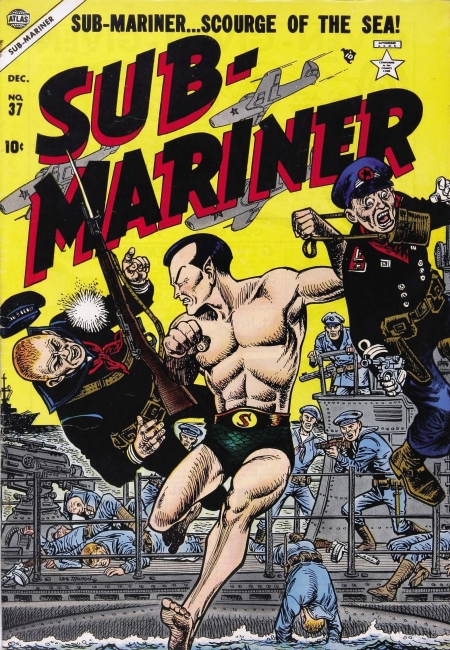 Sub-Mariner Comics 37 Cover Image