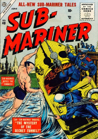 Sub-Mariner Comics 40 Cover Image