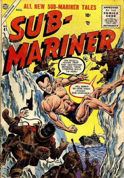 Sub-Mariner Comics 41 Cover Image
