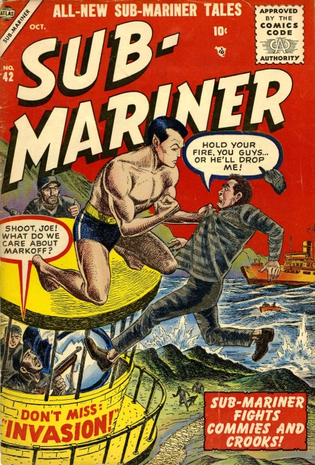 Sub-Mariner Comics 42 Cover Image