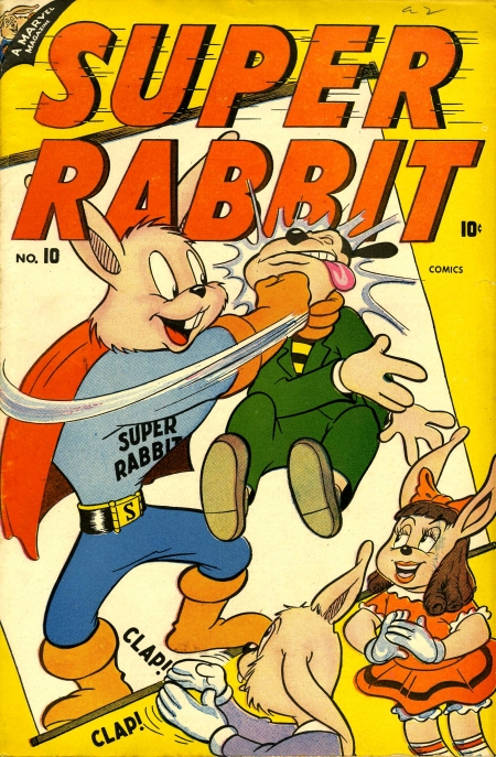Super Rabbit 10 Cover Image