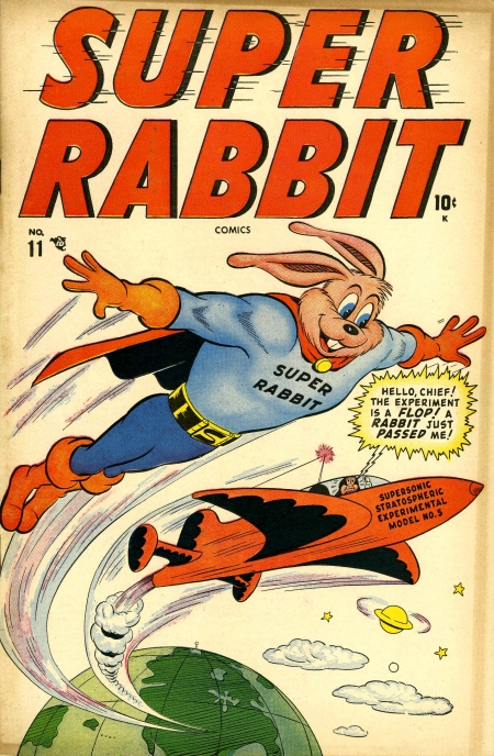 Super Rabbit 11 Cover Image