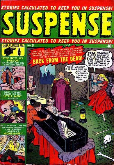 Suspense 9 Cover Image
