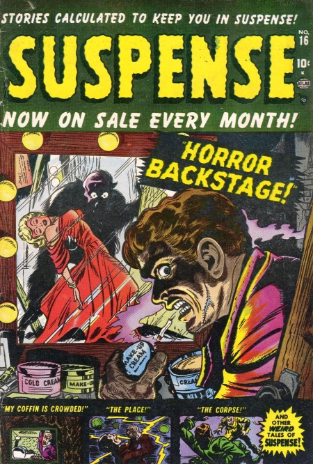 Suspense 16 Cover Image