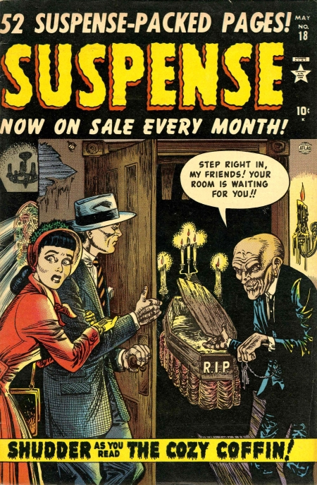 Suspense 18 Cover Image