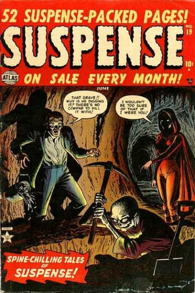 Suspense 19 Cover Image