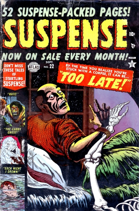 Suspense 22 Cover Image