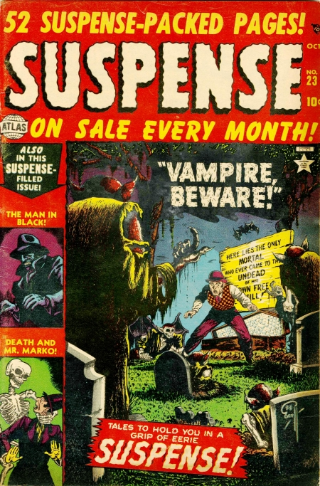 Suspense 23 Cover Image