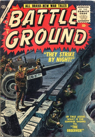 Battle Ground 5 Cover Image