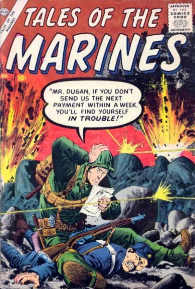 Tales of the Marines 4 Cover Image