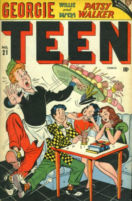 Teen Comics 21 Cover Image