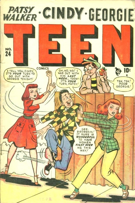 Teen Comics 24 Cover Image